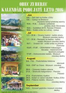 Kalendár podujatí K1