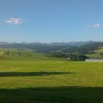 Západné Tatry  z pohľadu od Suchej Hory