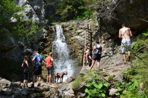 Malý vodopádik 200 m od Oblazov - Mlynov