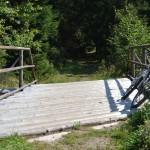 Tu pokračuje cesta až po Múzeum Oravskej Dediny